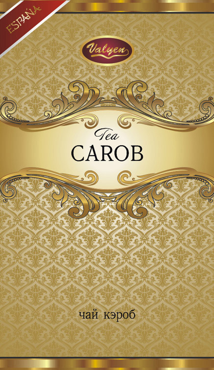 Tea from carob is a phyto tea from crushed fruit (pods) of carob.